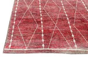 63101 Tribal rug 6'11