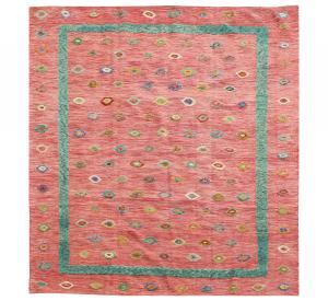 63103 Tribal rug 8'10