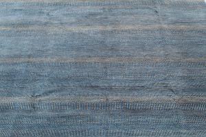 63173 Modern Handmade Wool Rug 9'1