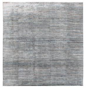 63181 Modern Handmade Wool Rug 10'x13'10