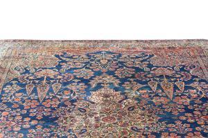 63267 Antique Kashan 11'6