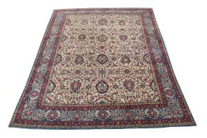 63270 Antique Tehran rug 8'5