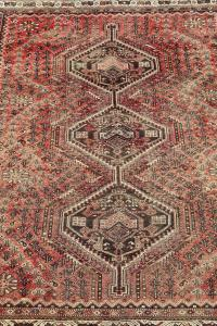 63301 Antique Persian Southwest Rug 6'7