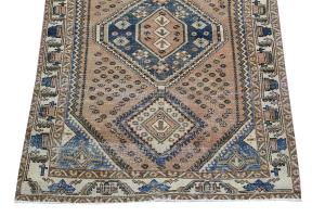 63302 Late 19th Century Antique Southwest Persian Rug 4′7″ × 6′8″