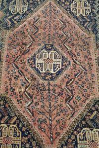 63305 Antique Southwest Persian Rug 4′7″ × 7′4″