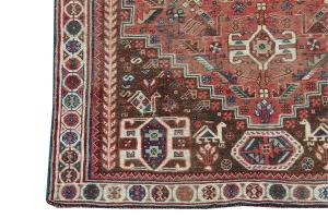 63309 Antique Early 20th Century Southwest Rug 5'5