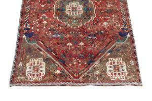 63310 Antique Persian Southwest Rug 5'2'x7'11