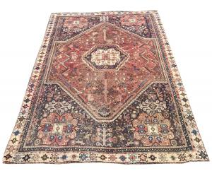 63311 Antique Early 20th Century Southwest Vintage Rug 4'3
