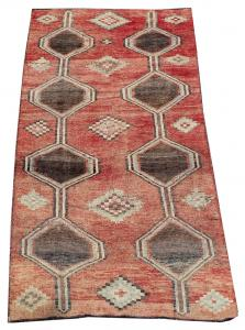 63312 Late 19th Century Antique Southwest Persian Rug 3′5″ × 6′11″