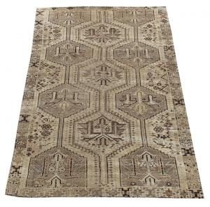 63314 Antique Persian Southwest Ghashgaie Rug 4′11″ × 7′9″