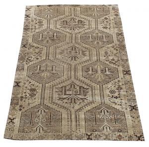 63314 Antique Persian Southwest Ghashgaie Rug 4′11″ × 7′9″