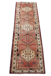 63315 Antique Southwestern Persian Runner - 2′10″ × 10′5″