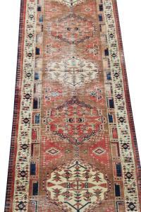 63315 Antique Southwestern Persian Runner - 2′10″ × 10′5″