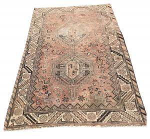 63318 Antique Southwestern Persian Rug 3'7
