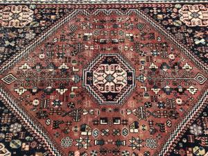 63321 Antique Persian Southwestern Rug 4'3