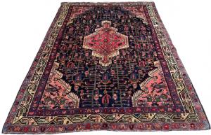 #63486 Antique Persian Enjelas 4'7