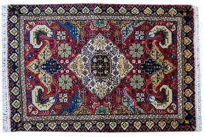 Antique Tabriz Rug- 1'9