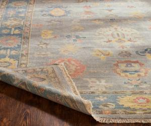 Vid-138 Hand Knotted Adele AA-009 Soft Grey Blue