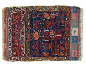 Antique Persian Tribal bag cover 1'9