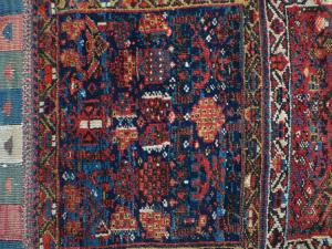 Antique Persian Tribal bag cover 1'9
