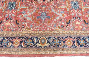 C28-5 Antique Bijar Design 17'9