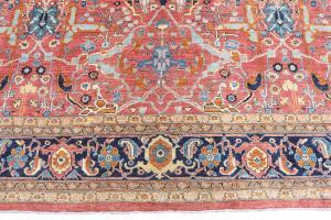 Vintage Persian Rug 12'7