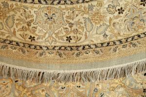 C-K1 Round Hand Knotted Rug 7'3