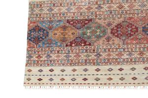 C18/2/37 Tribal rug 10'x13'6