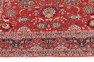 C2397- Old Persian Kashan 9'9