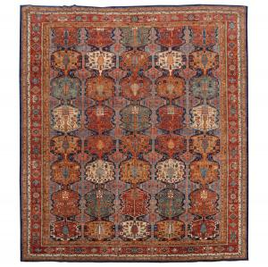C27-4 Antique Bijar Design 17'7