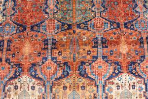 C27-4 Antique Bijar Design 17'7