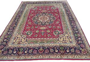C327476 Vintage Tabriz rug - 8'6