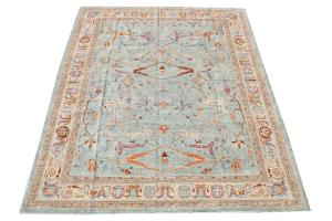 C39-36 Colorful rug 10'3