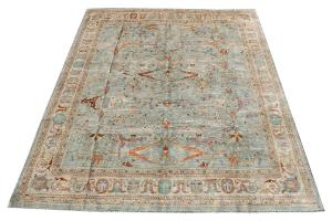 C40-38 -Colorful rug 11'8