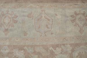 Turkish Oushak Wool 10'9