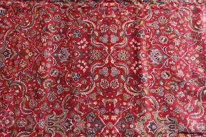 Antique Kashan 10'10
