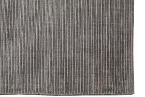 Modern Ribbed Bamboo Silk Rug 9'1