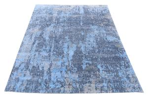 Hand-knotted modern rug 14'x10'
