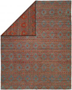 EN-912 Endure Rug Color Crimson Blue