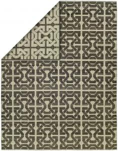 EN-913 Endure Rug Color Ivory Black