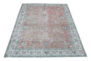 63263 vintage Tabriz 9'6