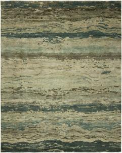 ND 317 Tranquility Hand Knotted 6'x8'10