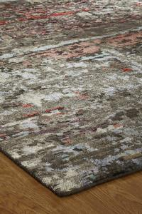 Lhasa LN-493 Hand Knotted Sienna