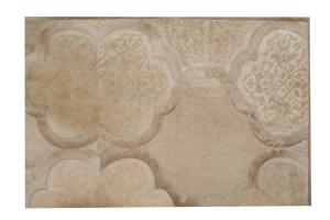 Custom Cowhide New Antique Champagne