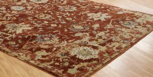V138 Oberoi Hand Knotted OB 088 -6'x9'