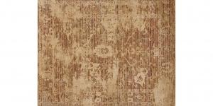 60791 Transitional Rust Ivory rug 8'x10'