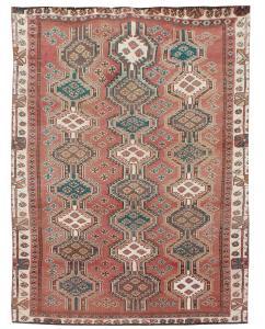63260 Vintage Tribal Persian 4'3