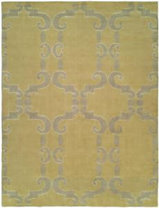 Golden Glow Wool & Silk Rug Sample Clearance 6'x9'