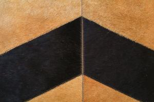 Custom Cowhide Herringbone