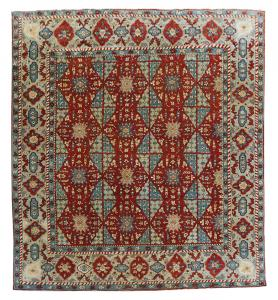 C-029 Multi color patter rug - 12'2
